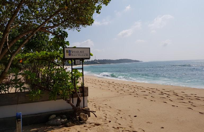 Beach, Sri Sharavi Beach Villas & Spa
