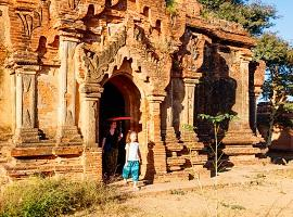 Family Holiday in Bagan, Myanmar
