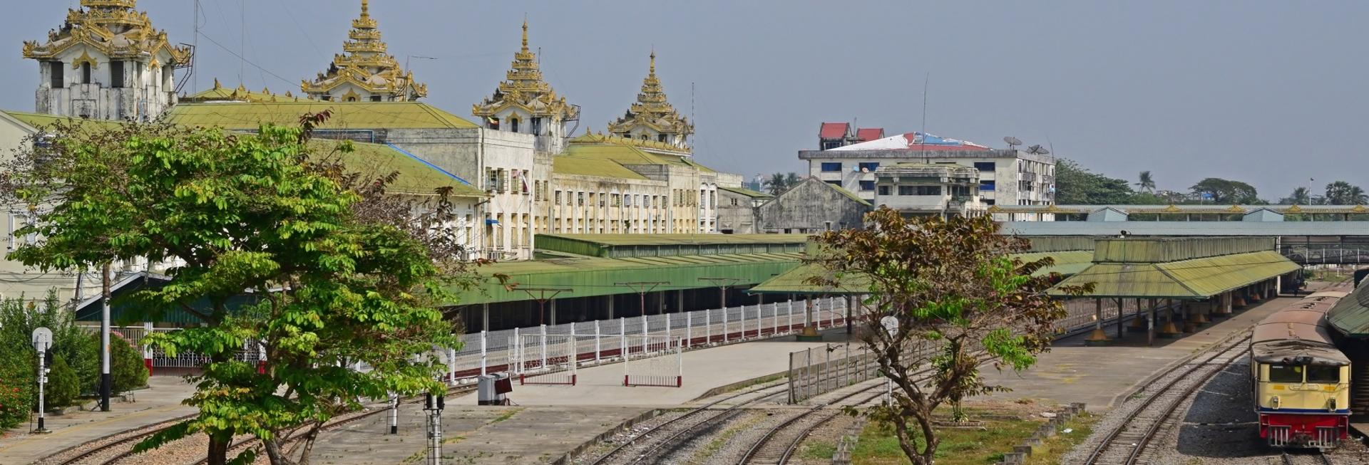 Yangon Circular Line Train