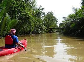 Kayaking in Kampot