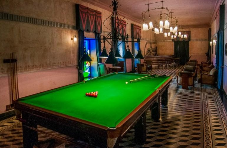 Billiard, Taj Usha Kiran Palace