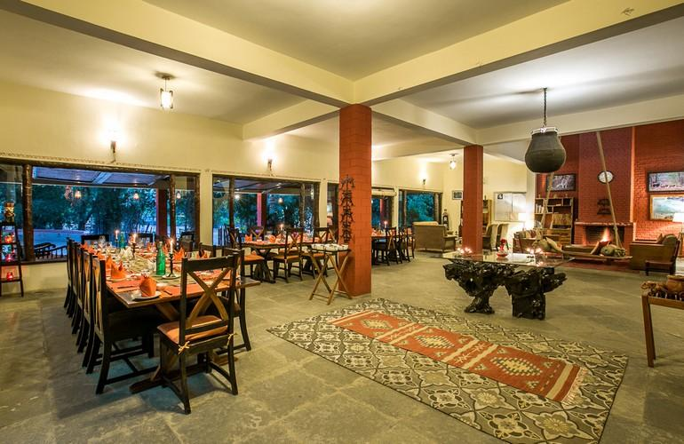 Dining Room, Bandhavgarh Jungle Lodge