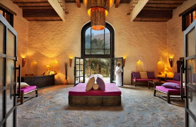 Lobby, Six Senses Zighy Bay