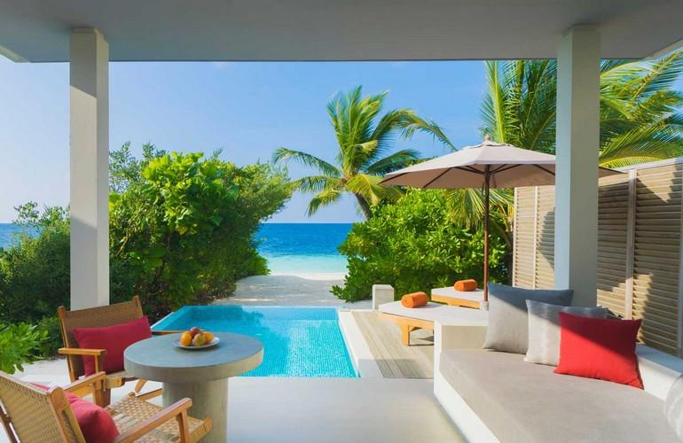 Beach Villa With Pool, Dhigali