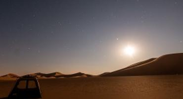 Camping in the Empty Quarter