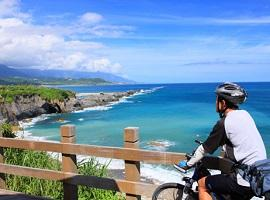 Cyclist in Taitung