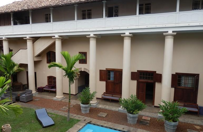 Architecture, Galle Fort Hotel