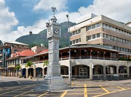 Clock tower, Mahe